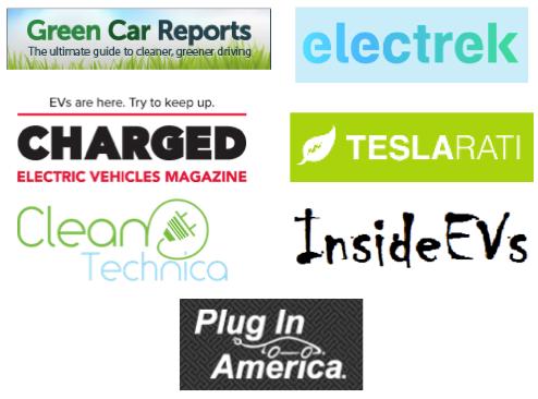 EV websites logos