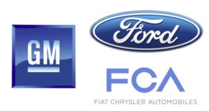 Big 3 auto logos