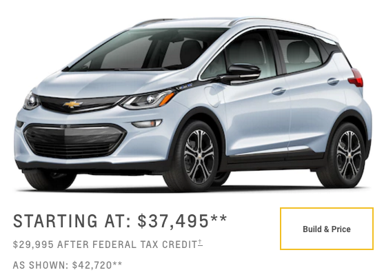6 Strategic Mistakes Gm Made With The Chevrolet Bolt Part 3 Price