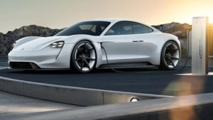 Porsche Mission E - electric car