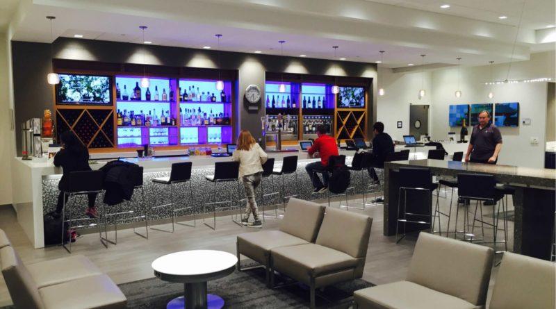 SFO Delta lounge