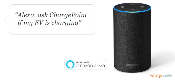 ChargePoint Amazon Alexa