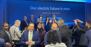 GM Hamtramck EV production press conference