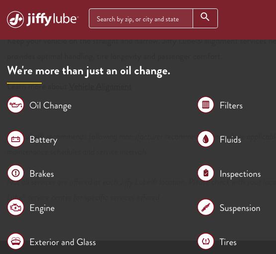JiffyLube-services