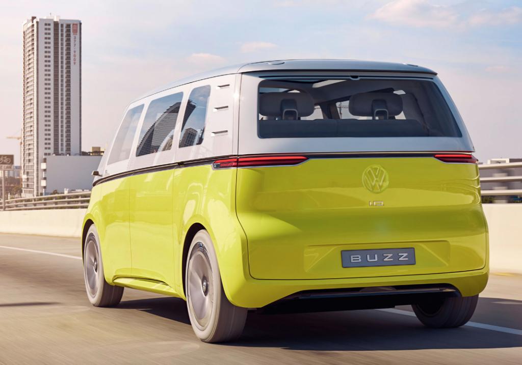 VW ID Buzz rear shot