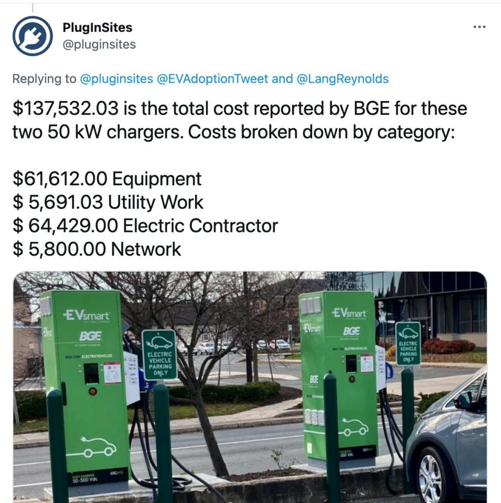 DCFC cost-via Plug-In sites - BG&E